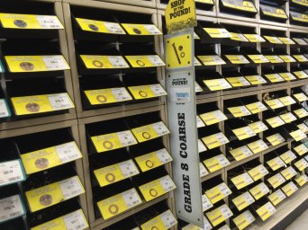 Nuts & bolts behind YELLOW tags