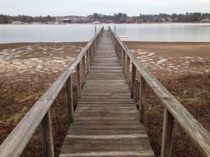 Dock to the Lake Edge